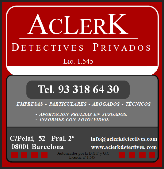DETECTIVES ACLERK
